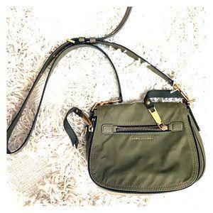 Marc Jacobs Olive Green Crossbody Bag